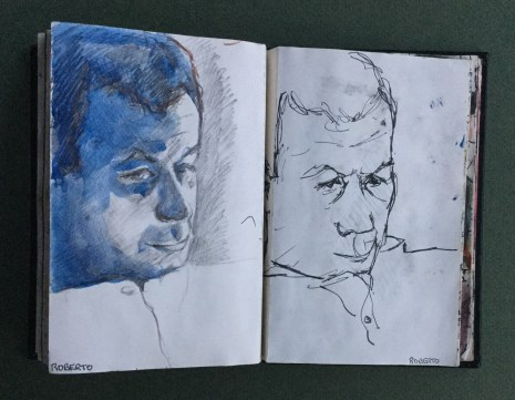Sketchbook, Roberto, 1987