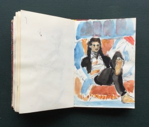 Sketchbook, Katherine, 1991