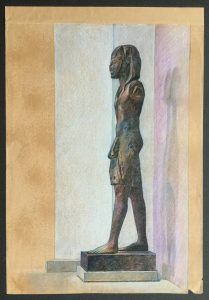 Wooden Statue from the Tomb of Ramesses IX