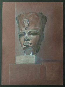Amenhotep III - red granite