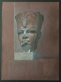 Amenhotep III - red granite