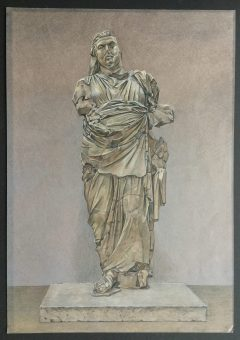 Colossal Statue of a Man from the Mausoleum at Halicarnassus,