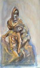 """The Deposition"", Museo del Opera del Duomo, Florence, 1987"