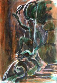 Fontana delle Tartarughe, Rome, 1988
