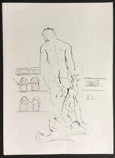 Piazza della Signoria, Florence, 1987