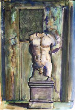 Torso, Palazzo dei Conservatori, Rome, 1988