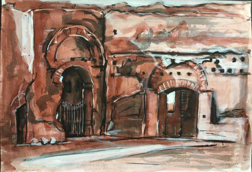 The Baths of Caracalla, Rome, 1988