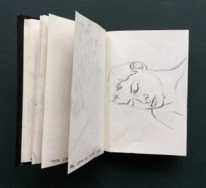 Sketchbook, Paul Sleeping, 1986