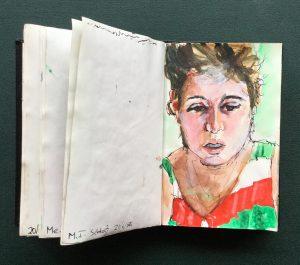 Sketchbook, MT, June, 1986