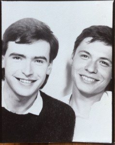 Mike and Paul, 1986 - Passport Photobooth