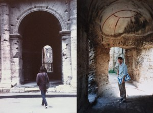 MG, The Colosseum & Hadrian's Villa, 1987, PHOTOS - Roberto Bertinelli