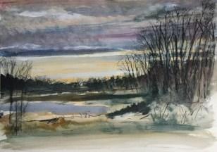 Upton Lake, 3:30 pm, December 27th, 2018