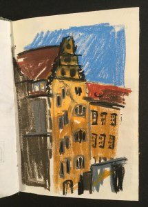 Buildings, Munich (?), 1992