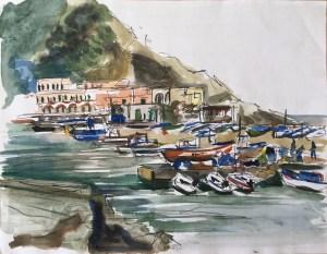 Harbor, Sant'Angelo, Ischia, 1997