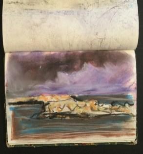 Storm, Ischia, 1997
