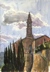 Umbrian Church, 2000