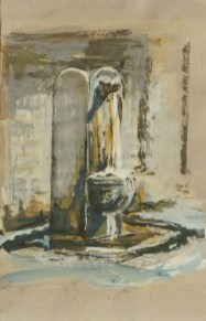 Water Fountain I, Rome, Private Collection