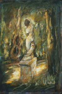 Boboli Gardens, Florence, 1987, Private Collection