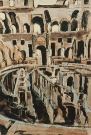 The Forum, Rome, 1987, Private Collection