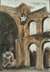 Baths of Caracalla, Rome, 1987, Private Collection