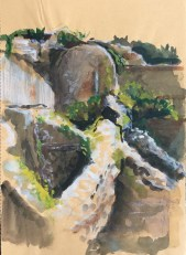 Ruins, Corsica, 2003