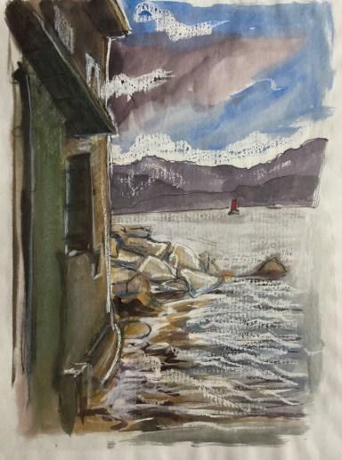 Approaching Storm, Saint-Florent, Corsica, 2003