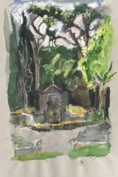 Cemetery, Corsica, 2003