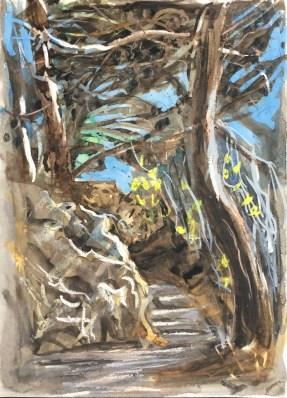 Steps Below Citadel, Saint-Florent, Corsica, 2003