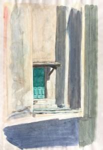 Church Doorway, San Martino di Lota, Corsica, 2007