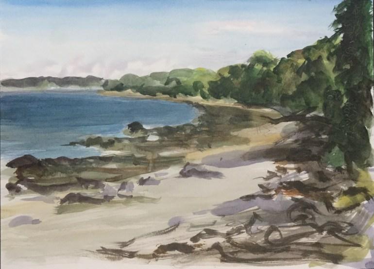 Beach - Penobscot Bay, 2010