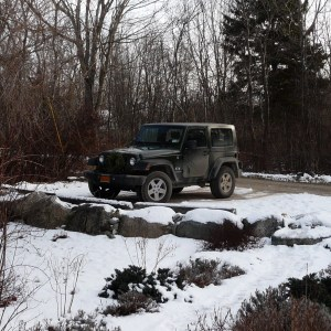 Jeep Wrangler, Maine, December, 2010