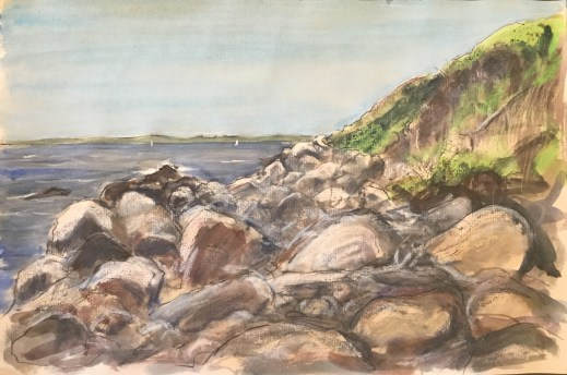 Fishers Island, NY, May 18th, 2019, PRIVATE COLLECTION,