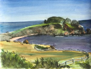 Havens Neck Peninsula, 2013, Private Collection