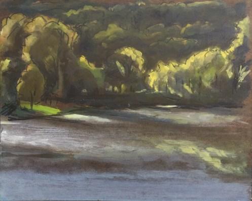 Upton Lake, Fall, 2016