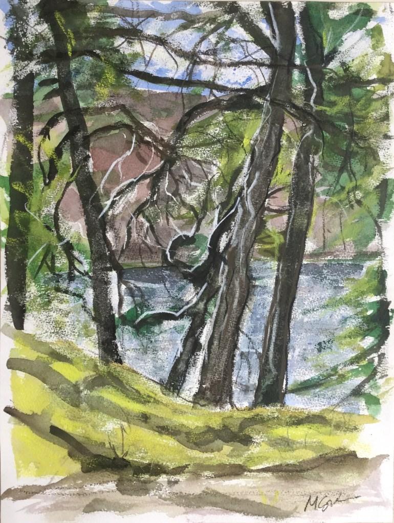 Upton Lake, Spring, 2016