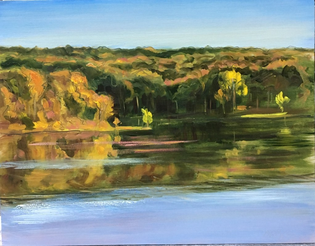 Upton Lake, September 21st, 2019, The Golden Hour, 6:00 pm