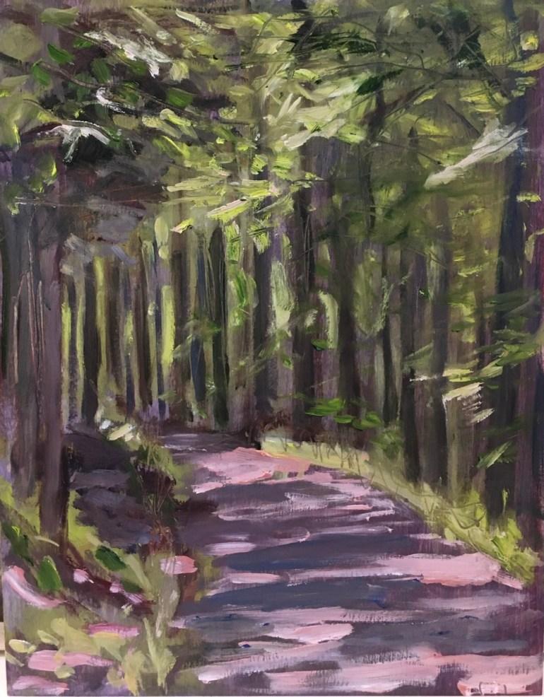 Trail, Copake Falls, 12 pm, May 26th, 2020