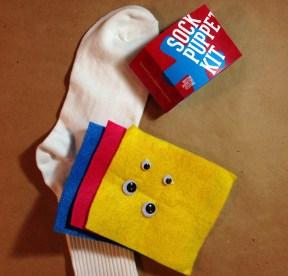 Sock Puppet Kit Contents