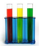 chemischer Laborversuch