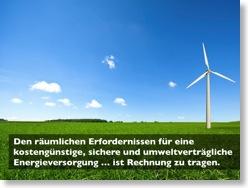Verbesserung 3: Windrad im Grünen