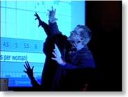 Hans Rosling präsentiert bei TED