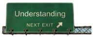 Verkehrsschild: Understanding - Next Exit