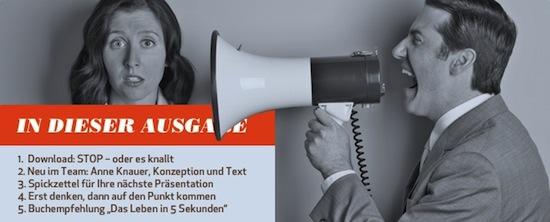 """Neuer Newsletter """"Der Punkt"""""""