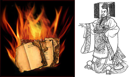 Quin Dynasty Book Burning image