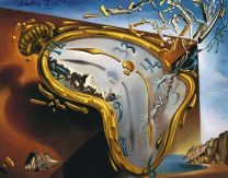 "Salvador Dali """"The Persistence of Memory""(3)."