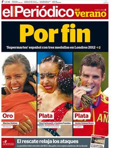 El Periodico Front Page