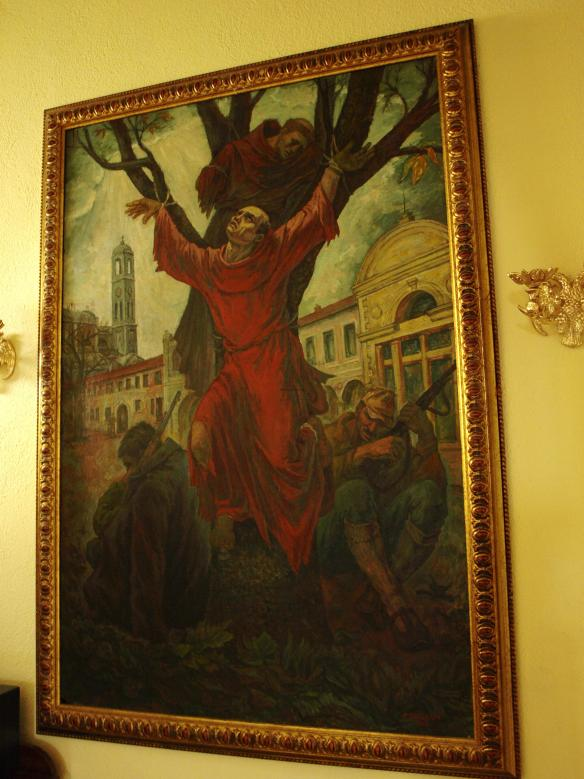 Crucifixion of Franciscan Friars
