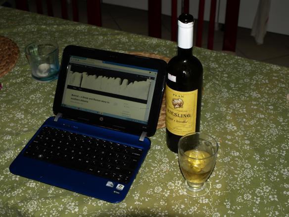 Pean Reisling - a German grape that doesn't work in Albania