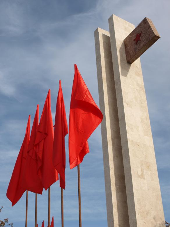 Vlora Martyr's Monument on Liberation Day 2011