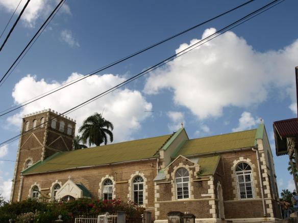 Castreis Anglican Church, St Lucia